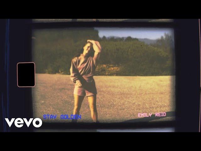 Emily Reid - Stay Golden (Lyric Video)
