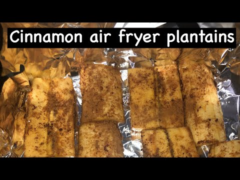 quick-an-easy-air-fryer-plantains||-trinidad-youtuber