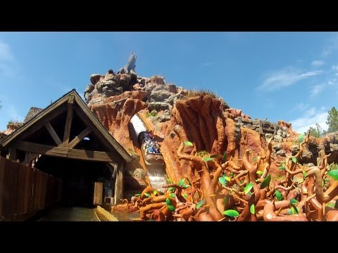 Splash Mountain Full Ride POV 1080p HD With Binaural Audio - Walt Disney World