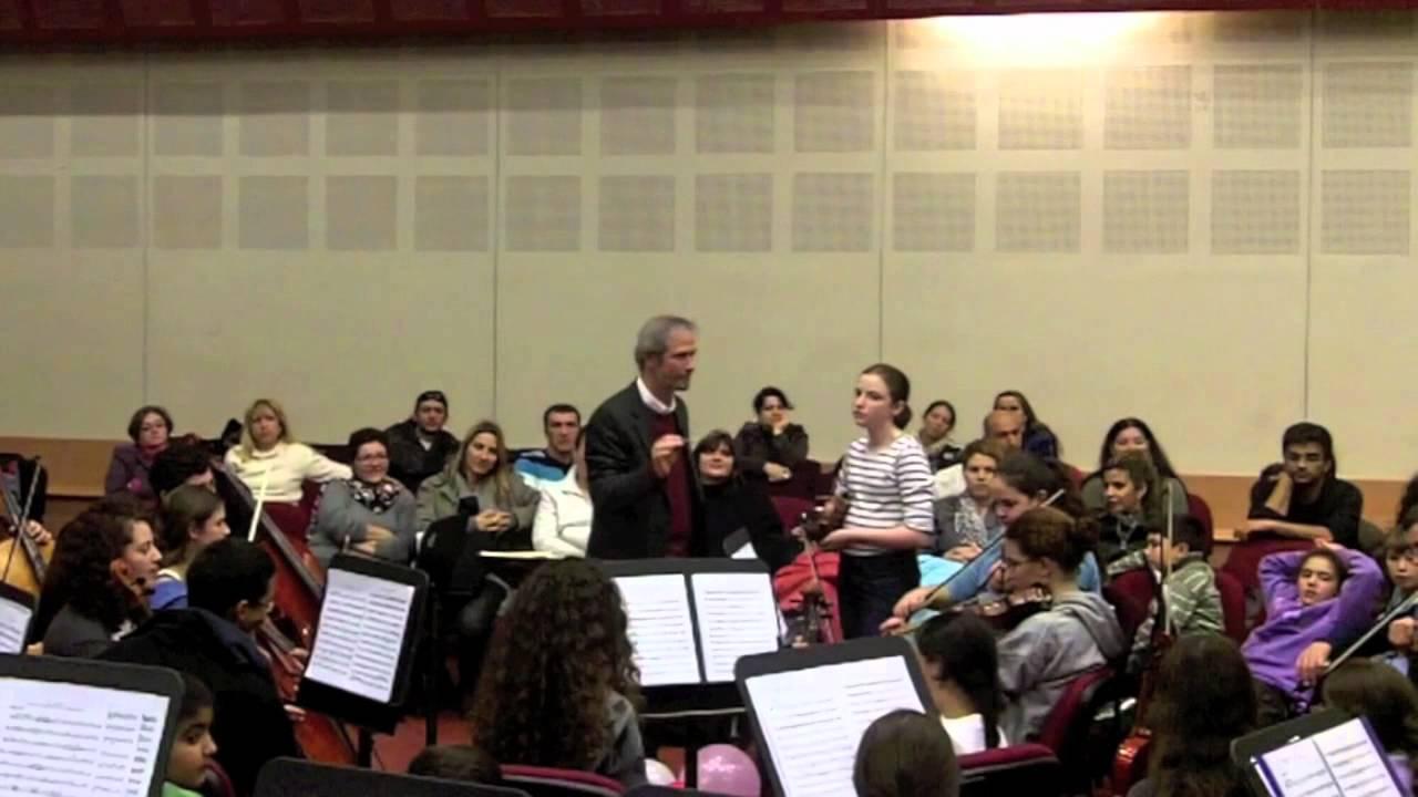 The Jerusalem Conservatory Chamber Orchestra
