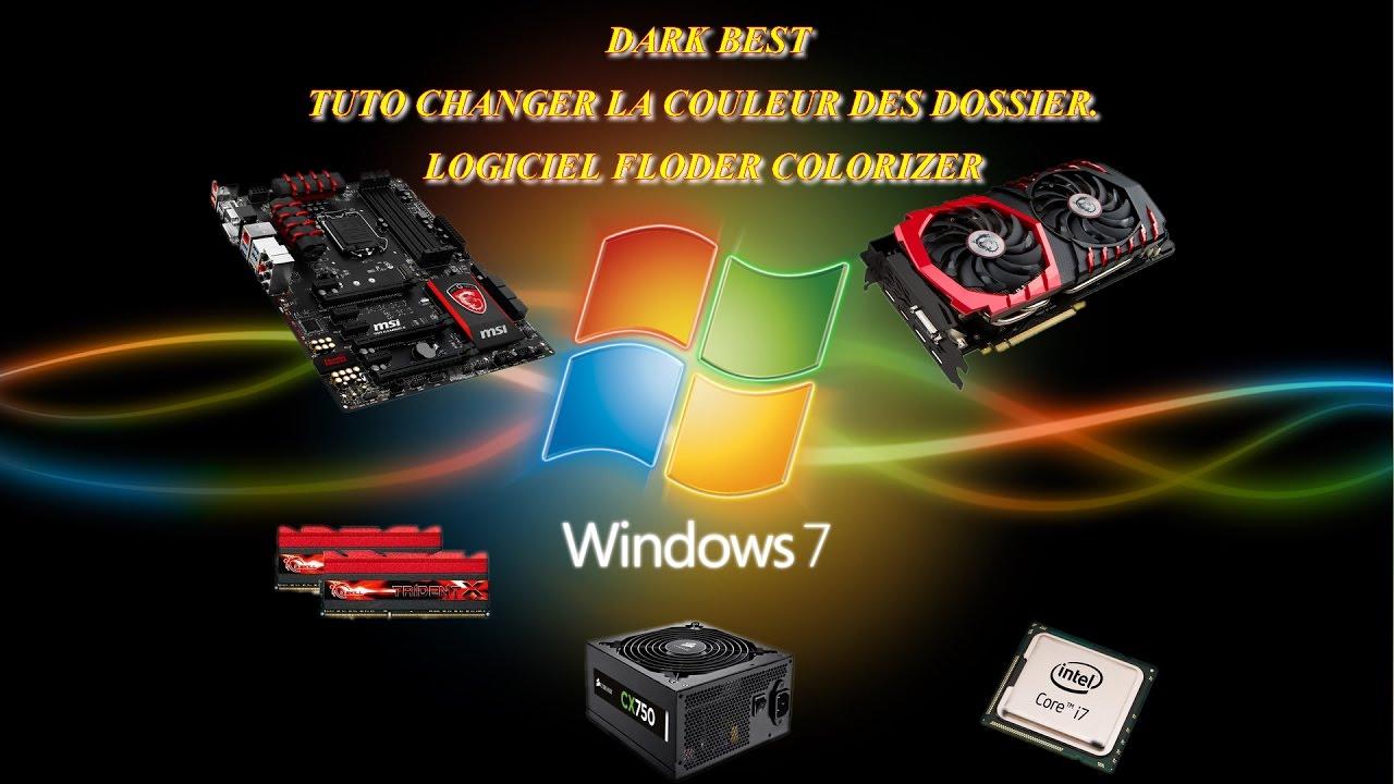 Windows changer la couleur des dossiers Folder Colorizer