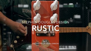 stephen douglas design rustic fuzz full demo with sean gibson of the noise reel