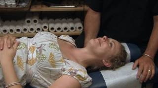 First Chiropractors Neck Adjustment Demonstration by Austin Chiropractic Care