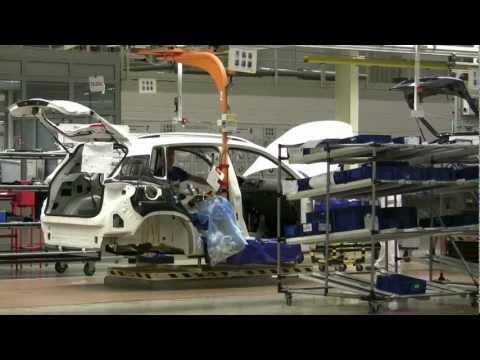 Завод Volkswagen-Skoda в Калуге
