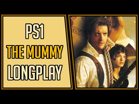 The Mummy (All Perfect Zones + Bonus Content) - PS1 Longplay/Walkthrough #6 [4Kp60]