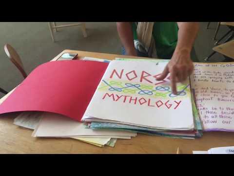Peek Into Live Education Waldorf Homeschool Conference: Main Lessons