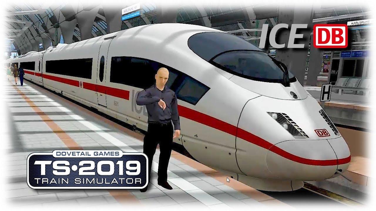 Train Simulator 2019 - High Speed Train ICE 3 (Ep.1) VIDEO FOR CHILDREN