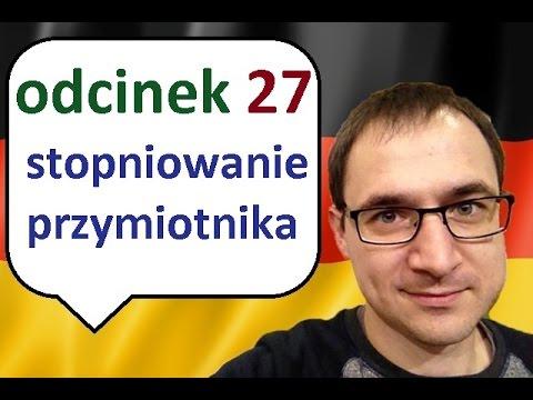 Niemiecki w parę minut 27 - stopniowanie przymiotnika - gerlic.pl