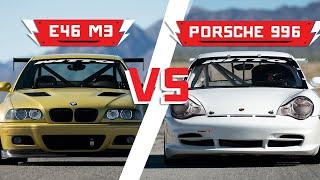 BMW E46 M3 vs Porsche 996 | Driver Battles: Track Edition