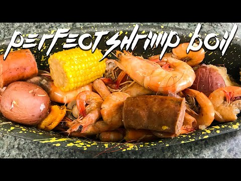 Annual 2019 Seafood Boil 🦐 Quest For The Perfect Boiled Shrimp