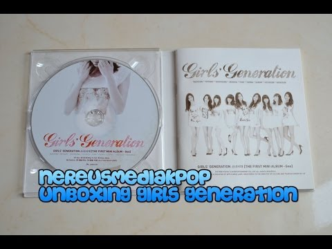 Girls' Generation GEE (2009) Unboxing