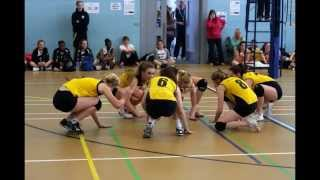 East Midlands U16 girls volleyball