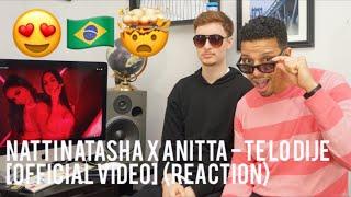 Baixar Natti Natasha x Anitta - Te lo Dije [Official Video]  (reaction)