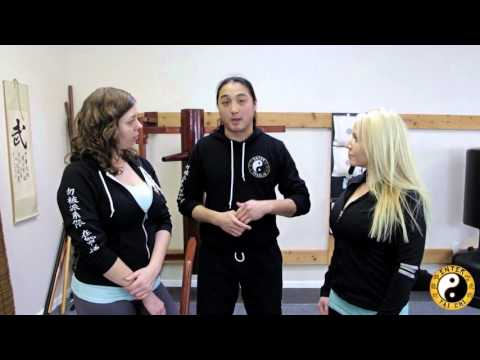 Kung Fu Lessons | Women's Self Defense | Defend Against Hair Grab
