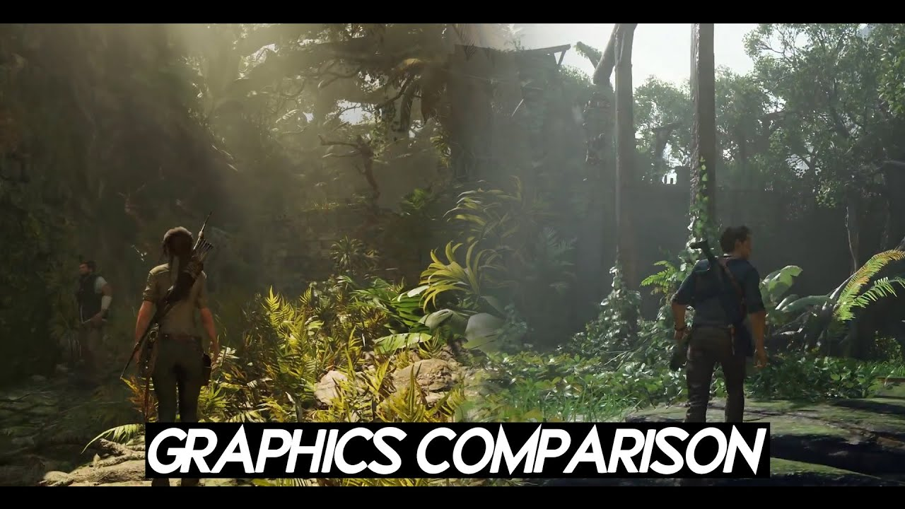Realistic Graphics Comparison Uncharted 4 Vs Shadow Of Tomb Raider