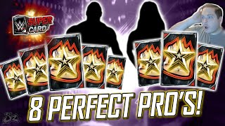 8 PERFECT GOLIATH PRO'S ON RUSEV DAY!! | WWE SuperCard