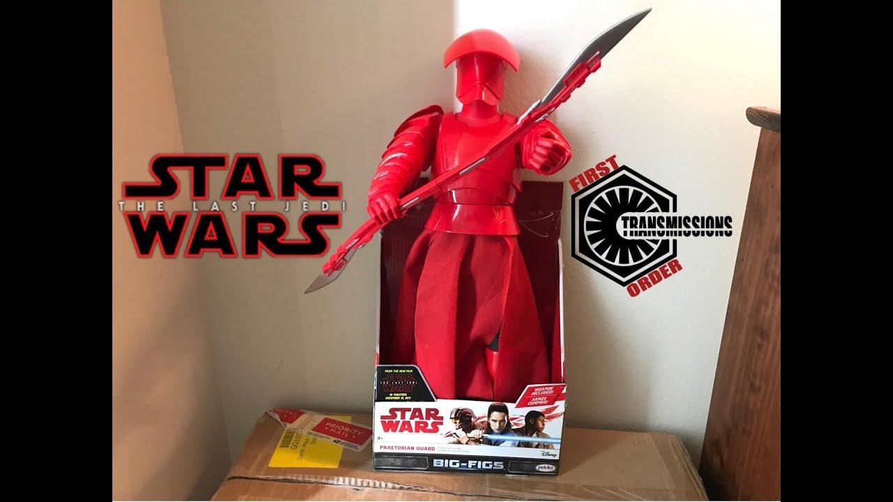 Star Wars The Last Jedi Praetorian Guard 18 Jakks Pacific Figure Review