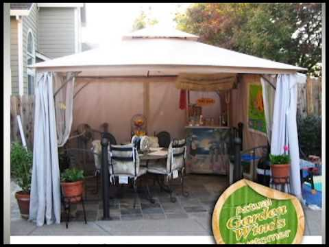 Garden Winds Replacement Canopy for the Kilpatrick Lane Wal-Mart OSH 12x12 Gazebo & Garden Winds Replacement Canopy for the Kilpatrick Lane Wal-Mart ...