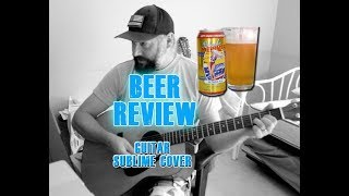 Left Coast Blonde Marvel Beer Review - Sublime What I Got Guitar Cover