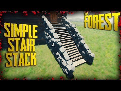 S2 EP12 - Staircase Building Trick + Tower Building (v0.70) | The Forest