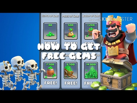HOW TO GET FREE GEMS IN CR | Clash Royale | Fast Gems