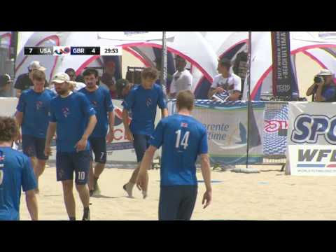 Great Britain Layout D and Score - Men's Gold Medal Game - WCBU 2017