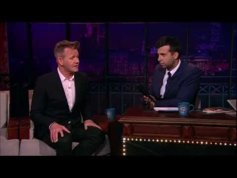 Гордон Рамзи/Gordon Ramsay в гостях шеф. Вечерний Ургант. (29.05.2014)
