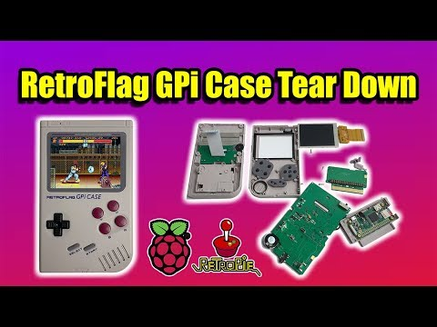 RetroFlag Gpi Case Quick Teardown The Best Raspberry Pi GameBoy? $69.99