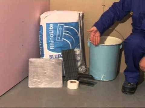 Using RhinoGlide  RhinoLite to Complete Your Dry Walling