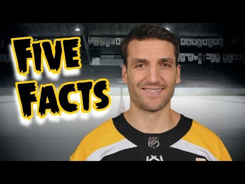 Patrice Bergeron/5 Facts You Never Knew