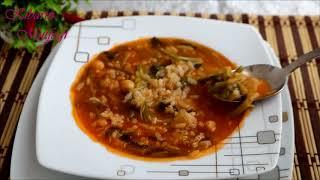 Ispanak kökü çorbası nasıl yapılır (ekşili)-Ispanak çorbası tarifi-Çorba tarifleri - Kibarin Mutfagi