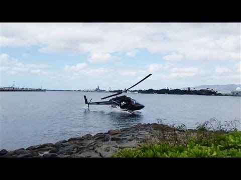 Tourist Helicopter Crashes in Pearl Harbor