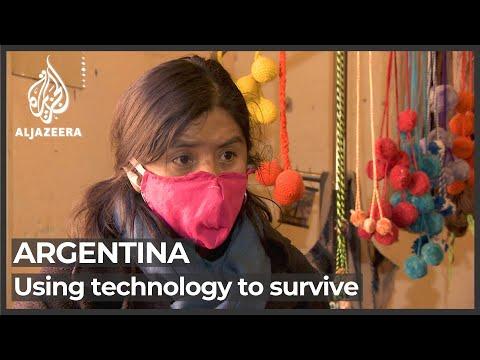 Argentina economy: Weavers struggle to survive