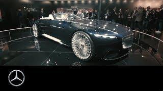 IAA 2017: Mercedes-Benz Cars auf der Überholspur
