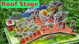 Part 4 - Let's Build DIY Plants VS Zombies PVZ Final Roof Stage Dr Zomboss Gargantuar Cob Cannon thumbnail