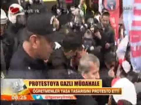 KANALTÜRK TV EĞİTİM İŞ SENDİKASI İŞ BIRAKMA EYLEMİ 27 ŞUBAT 2014