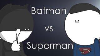 Batman vs Superman: Begins или эпичное противостояние в детском саду