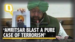 "Amritsar Blast: CM Amarinder Calls it a ""Pure Case of Terrorism"" | The Quint"