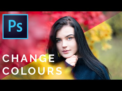 HOW TO CHANGE ANY COLOUR IN PHOTOSHOP 2020 | Photoshop Tutorial
