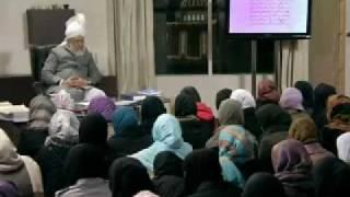 Gulshan-e-Waqfe Nau (Nasirat) Class: 24th January 2010 - Part 2 (Urdu)