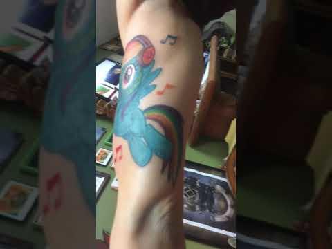 Rainbow Dash Tattoo By Rudyz559