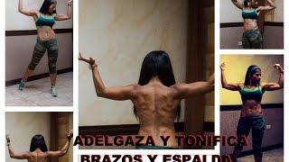 entrenamiento 203 rutina para adelgazar y tonificar tus brazos y espalda en casa
