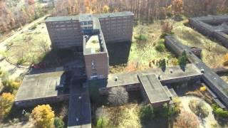 Haunts of Delirium (Northville Regional Psychiatric Hospital) Drone Fly Over