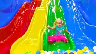 ¡Vamos al Parque Infantil! | Canción Infantil | Canciones Infantiles con Katya y Dima