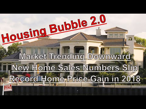 Housing Bubble 2.0 - The Housing Market is Trending Downward - Numbers Don't Lie