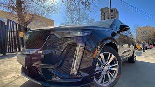 НЕРЕАЛЬНЫЙ кроссовер - Cadillac XT6 2020