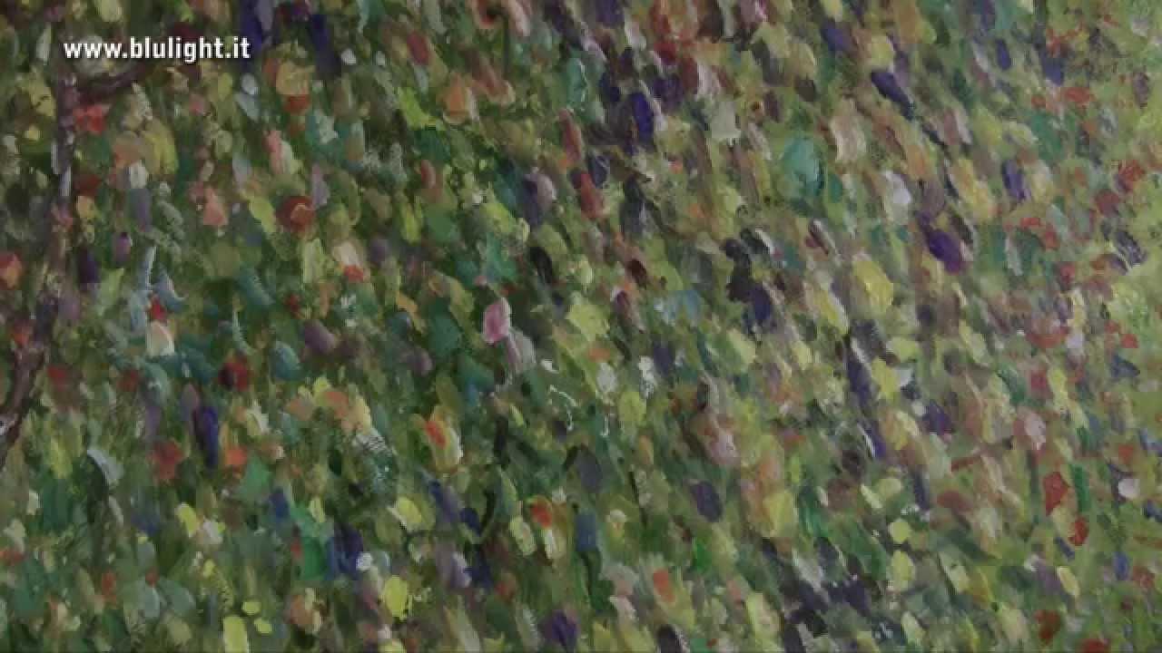 Gustav Klimt Poppy Field