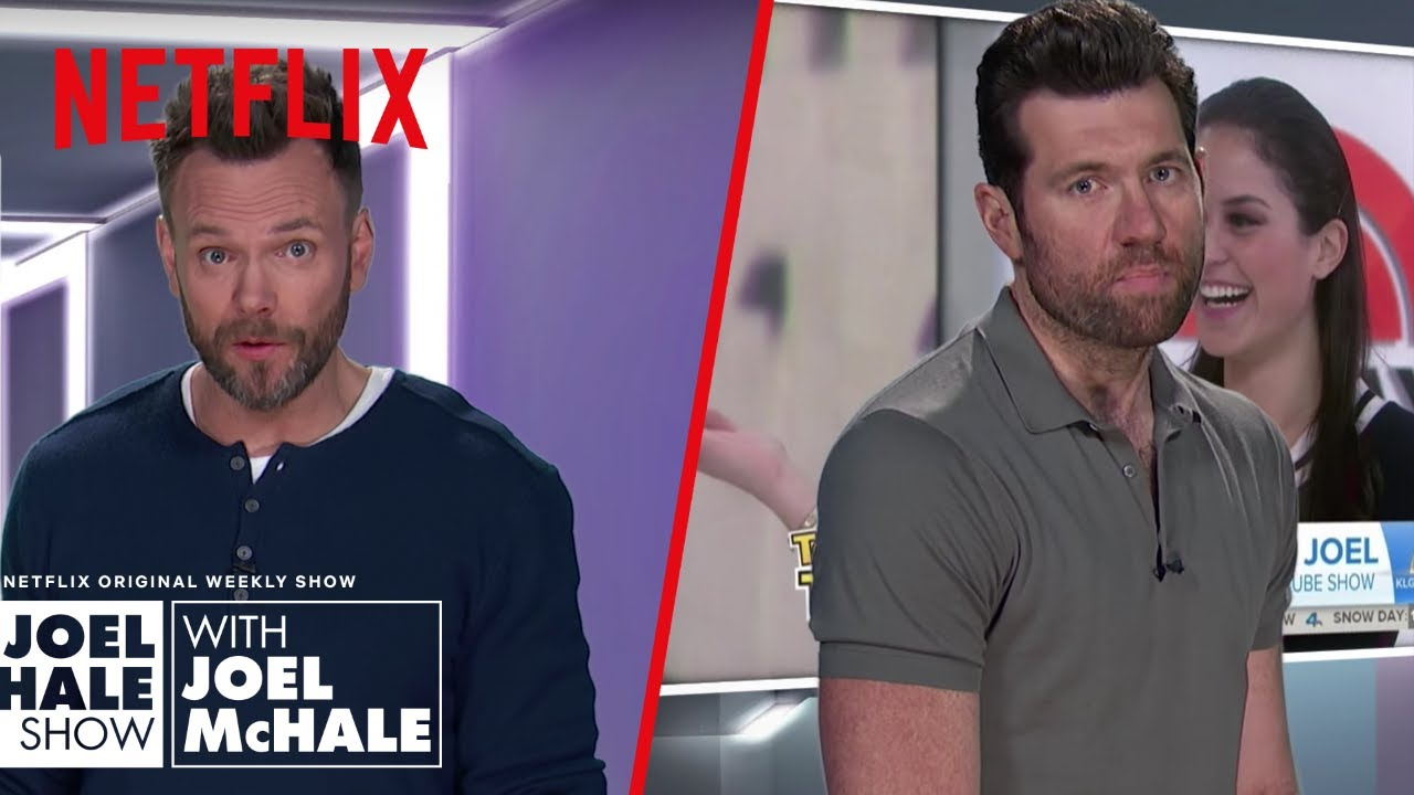 Download Billy Eichner Frightened for Joel's Life   Joel McHale Show   Netflix