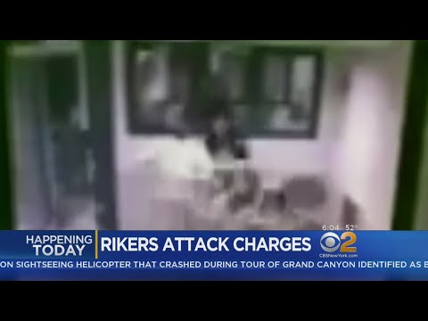 Inmates Charged In Rikers Island Officer Attack