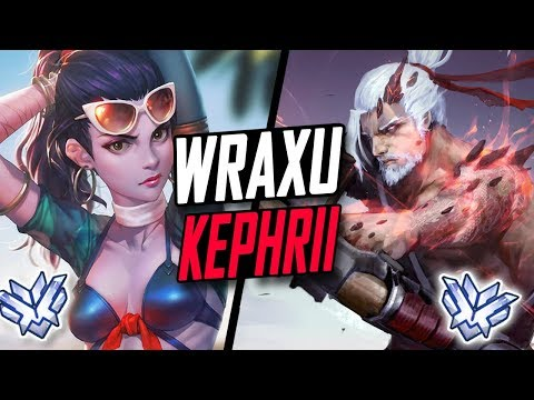 WRAXU AIMBOT HANZO AND KEPHRII BEST WIDOW! PRO TEAM! [OVERWATCH SEASON 6 TOP 500 ]